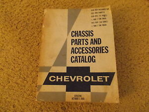 38-69-1969-Corvette-Chevy-Impala-Pickup-Truck-Original-GM-Master-Parts-Catalog