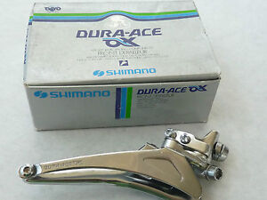 NOS-Shimano-Dura-Ace-AX-Braze-on-front-derailleur-model-7320-for-oval-tubes