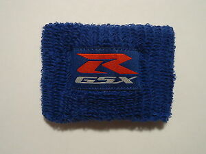 MOTORCYCLE BRAKE FLUID OIL RESERVOIR COVER SOCK SLEEVE GSXR SUZUKI MOTO GP