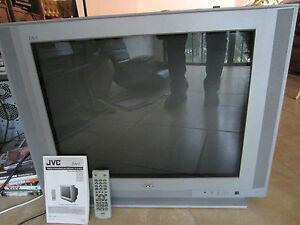 jvc av 27cf35 27 034 tv flat crt stereo i 039 art cathode. Black Bedroom Furniture Sets. Home Design Ideas