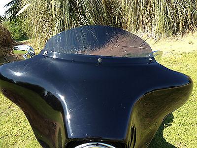 "Harley 6"" Windshield Dark Tint Touring/ElectraGlide/Ultra Classic/ '96 - '13"