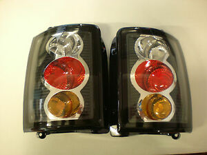 HOLDEN-COMMODORE-TAIL-LIGHTS-VN-VP-VR-VS-UTE-WAGON-BLACK-CLEAR-ALTEZZA-BRAND-NEW