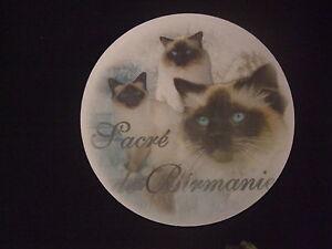 tapis de souris motif chat sacre de birmanie ebay. Black Bedroom Furniture Sets. Home Design Ideas