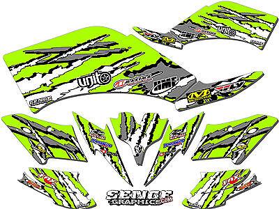 Kfx400 Kfx 400 Kawasaki Graphics Kit Decals Deco Stickers Four Wheeler Quad