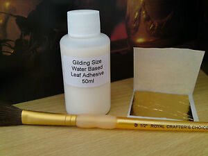 Gilding-Kit-Gold-leaf-sheets-adhesive-and-brush