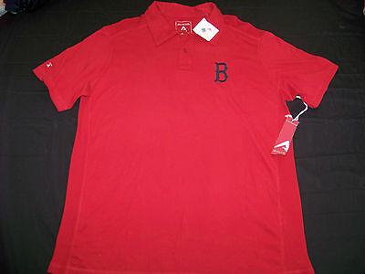 Antigua Men's Polo Shirt Boston Red Sox