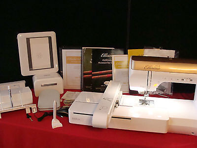 Baby Lock Ellisimo Gold Sewing, Embroidery, Quilt Machine  Like Brother Quattro