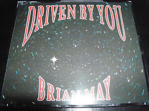 Brian-May-Queen-Driven-By-You-3-Track-CD-Single-Like-New-Mint
