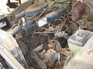 complete running engine 1976 ford 300 6 cylinder f100 f150 f250 ebay. Black Bedroom Furniture Sets. Home Design Ideas
