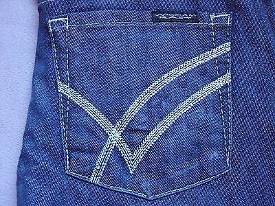 William Rast Jerri Womens Ultra Skinny Slim Fit Dark Denim Jeans Size 24