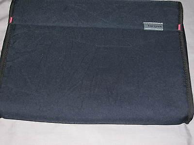 Targus Canvas Slipcase Portfolio Laptop Ipad Protect Case Blue Magnetic