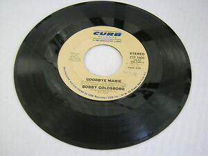 Bobby-Goldsboro-Goodbye-Marie-Love-Has-Made-A-Woman-Out-Of-You-45-RPM-Dot-Record