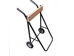 outboard motor trolley / Heavy duty 100kg rated! / Stable as wider than most