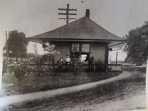 1907-LIRR-Long-Island-Rail-Road-Lindenhurst-Station-NY-New-York-Photo