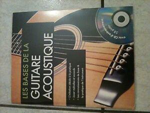GROS540-LES-BASES-DE-LA-GUITARE-ACOUSTIQUE-CD-DENTRAINEMENT-58-PISTES-NEUF