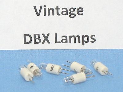 (6)  DBX REPLACEMENT LAMPS ~ DBX 160, VU 161, 162, 165, 165A ~ (Qty - 6)