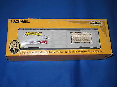 1980 Lionel 6-9431 Joshua Lionel Cowen The Pre War Years Box Car L0422