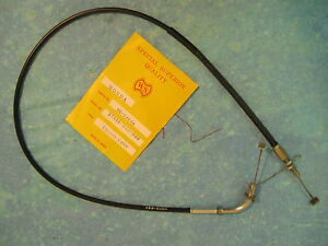 HONDA CB350F THROTTLE CABLE A CB 350 F F1 NEW 1972 - 1974
