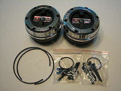 Avm Jeep Sj Truck,wagoneer1974-91 Locking Hubs 0ther With Dana 44 Internal Type