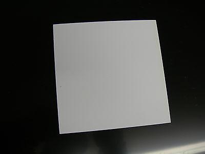 White Styrene Polystyrene Plastic Sheet .020 Thick 48 X 48 Light Blocking