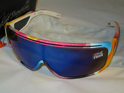 BRAND NEW SPY Optic TRON 93 Helmet Grey Blue Spectra Sunglasses McGrath on Rummage
