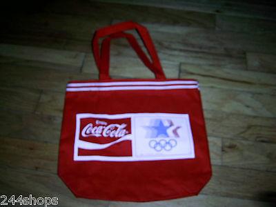 Coca Cola - 1980 OLYMPIC CANVAS TOTE BAG