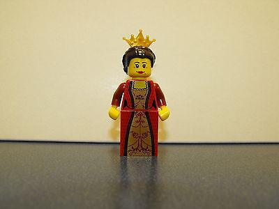 Lego Castle Kingdoms - Queen With Gold Tiara Minifigure