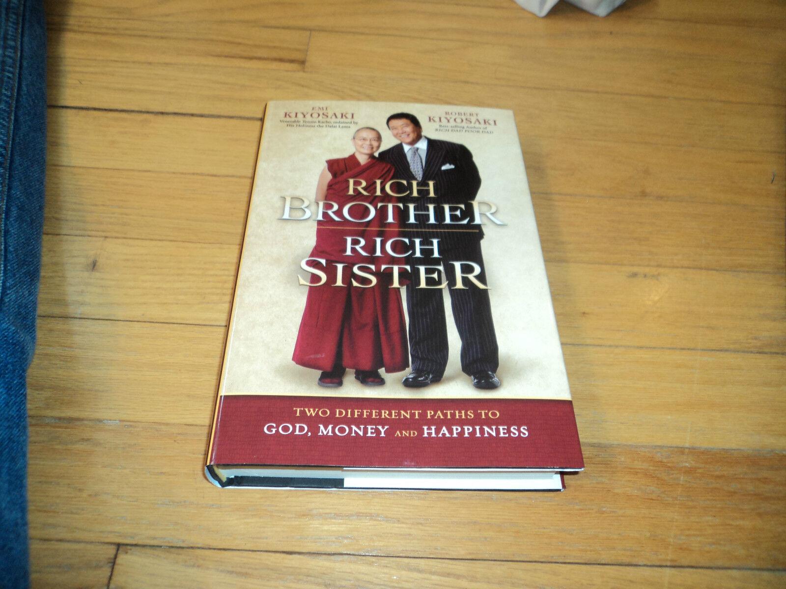 Rich Brother Rich Sister Robert Kiyosaki Emi Two Paths To God, Money & Happiness