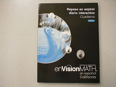 Envision Math En Espanol Grado 5 Repaso En Espiral Diario Interactivo 0328388947