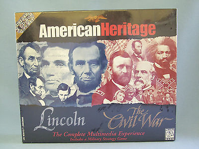 Lincoln Civil War Strategy Game American Heritage Multimedia Educational
