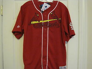 MLB St Louis Cardinals #27 Baseball Jersey NEW Youth MED (10-12)