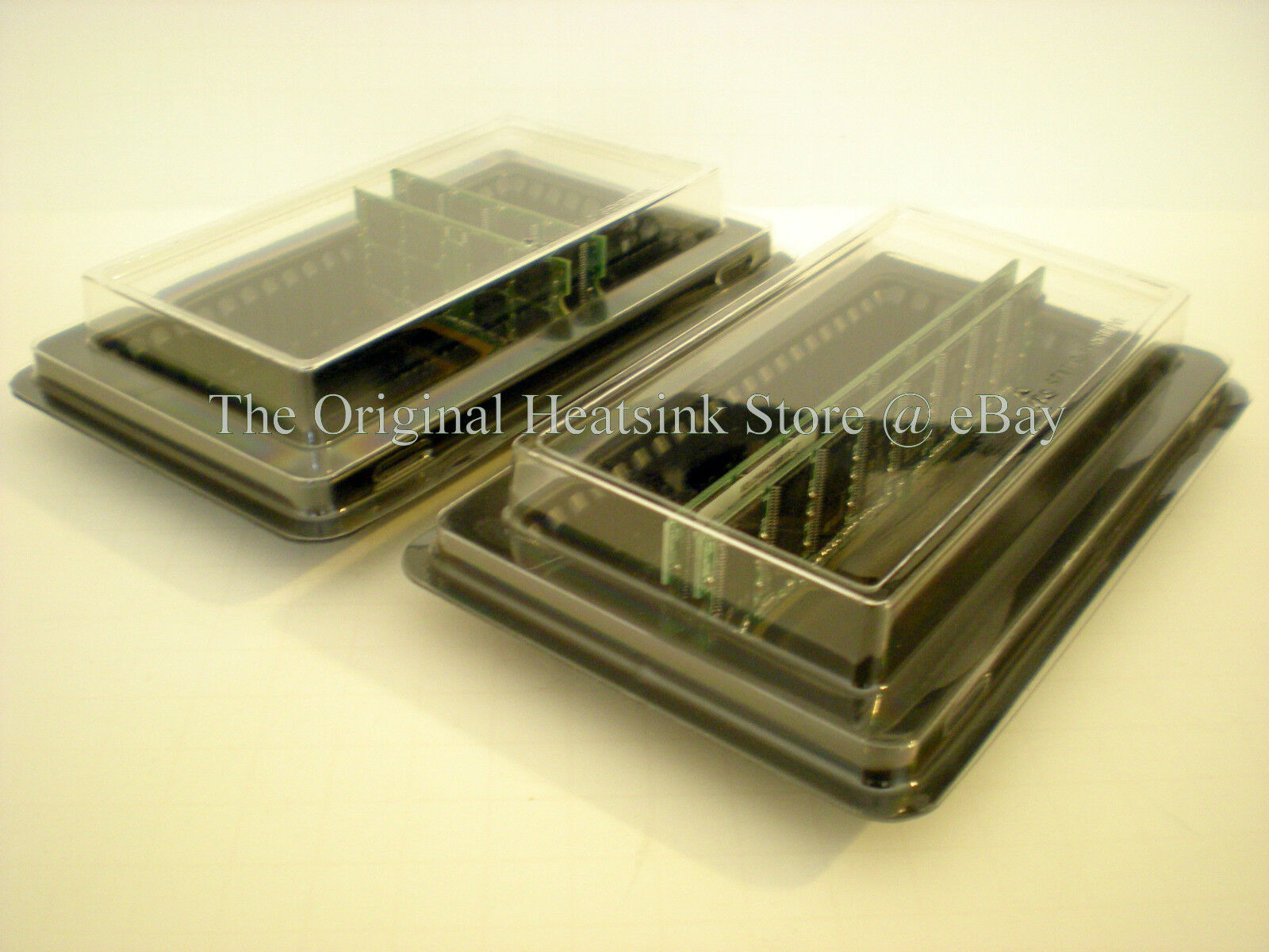 4 - Ddr Memory Tray Case For Pc Or Laptop Fits 40 Long Dimm Or 80 Short Dimm