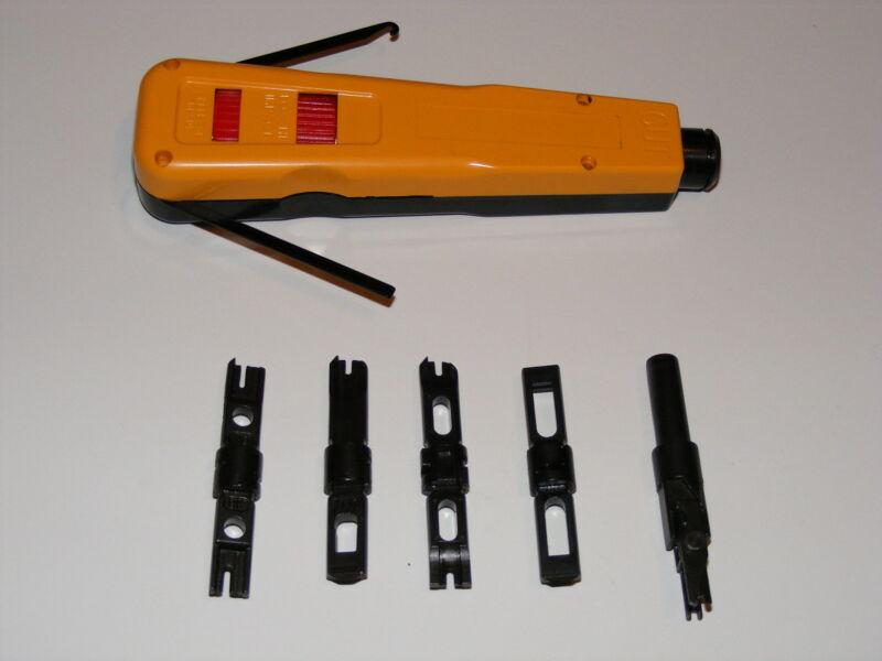 110 & 66 block punch down impact tool cat 6  bix blade