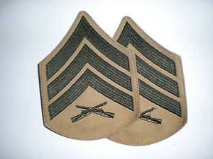 USMC-SERGEANT-RANK-GREEN-KHAKI-1-PAIR