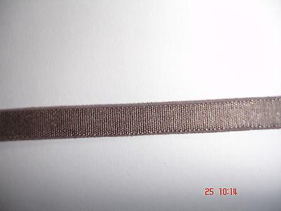 Gummiband 0,20€/m hell mokka 10 Meter MB2 Webgummi
