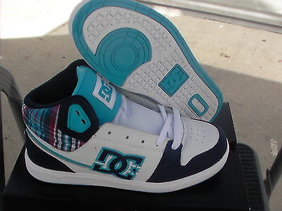Women's Dc Skate Shoes University Mid Size 7 With Box