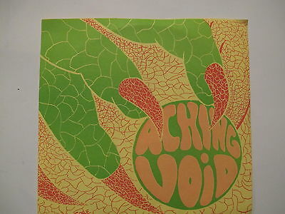M&m Individual Colors (ACHING VOID Swirlng Colors/Voices ORIG ROCKADELIC 45 GARAGE PSYCH PS 500 ltd)