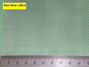 Aluminium Fine Wire Mesh for Vivarium, Reptile Insects 20cmx10cm