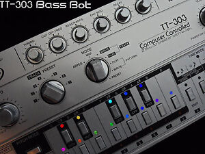 NEW Cyclone analogic TT-303 Bass bot acid TB-303 Roland cloneTR x0xb0x xoxbox