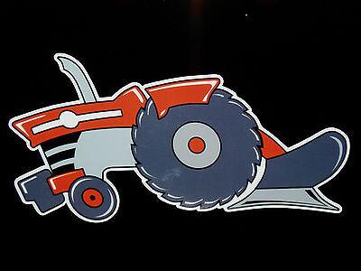 """massey Ferguson"" Mf Fans - Original Artwork Decal/sticker ""tractor Swag Series"