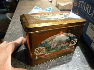 ancienne boite en fer de tabac balmoral vintage tobaco tabaco tin box ebay. Black Bedroom Furniture Sets. Home Design Ideas