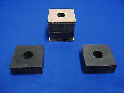Motor Mount Pads Front & Rear Lincoln Welder Sa 200 250 + Washers Redface