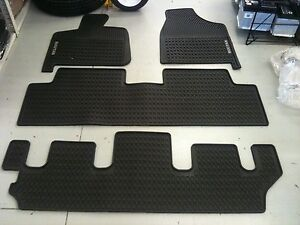 VW Volkswagen Routan Monster Floor Mats COMPLETE SET