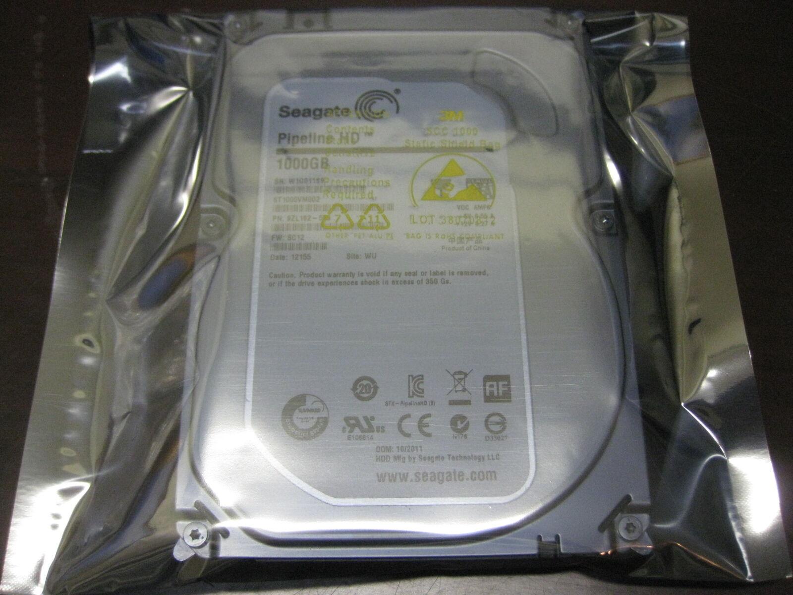 Seagate Video 3.5 Hdd 1 Tb Internal Sata St1000vm002 1tb Hard Drive Desktop Pc
