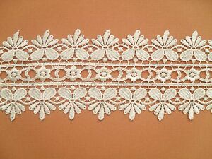 Beautiful Ivory  GUIPURE/VENISE Lace Trim    3