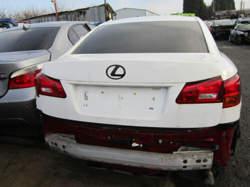 LEXUS IS 220D 2008 TAILGATE BOOT LID