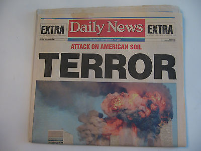 Daily News Newspaper   Attack On American Soil   Tues   Sept  11  2011