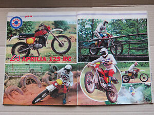 RIVISTA-MOTOCROSS-1977-CON-PROVA-APRILIA-RC-125-REGOLARITA-039-MOTO-D-039-EPOCA