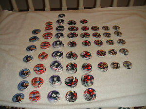 SkyCaps-By-Skybox-Lot-Of-539-Pogs-Hellslayer-Razer-Kilgore-Deathblow-More
