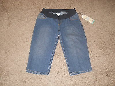 Oh Baby By Motherhood Maternity Denim/jean Capris/shorts - Size Small -